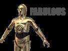 Sticker other starwars droide c3po bot fabulous robot 6po r2d2