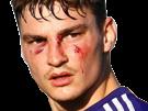 Sticker other pieter gerkens guerrier sang rsc anderlecht rsca football belgique
