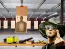 Sticker other alpote militaire pistolet tir cible