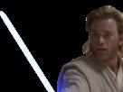 Sticker other obi wan obiwan kenobi star wars jedi republique sage sabre laser