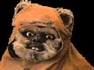 Sticker other star wars ewok episode 6 retour du jedi endor