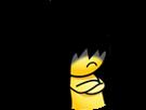 Sticker jvc sasuke dark sombre destin passe