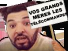 Sticker other mohamed henni vos grands meres les telecommandes telecommande