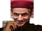 Sticker other macron ali qlf marocain otf president alkpote