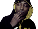 Sticker other guizmo rap fume capuche qlf wesh