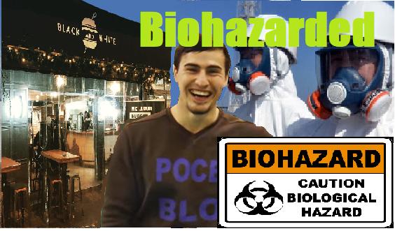 Sticker risitas hygiened ibratv biohazarded burger epidemie mondiale