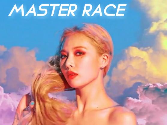 Sticker kikoojap kim hyuna kpop maitre course master race