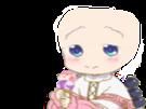 Sticker kikoojap kanna kamui kobayashi san anime chauve cheveux glace hap smiley