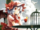 Sticker kikoojap remilia scarlet touhou drink jenseth