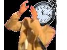 Sticker risitas gousset montre topic jesus rire bras