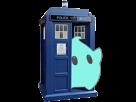 Sticker other luma tardis doctor who cabine bleue telephonique police box etoile cfw