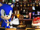 Sticker kikoojap sonic barman bar boisson boire delire alcool verre