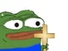 Sticker other peepo apustaja croix regarde jenseth