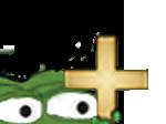 Sticker other peepo apustaja croix regarde cache jenseth