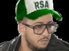 Sticker other lacrim rsa rap rappeur ripro arabe deter qlf algerien hip hop