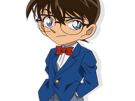 Sticker kikoojap detective conan edogawa regard lunettes