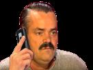 Sticker risitas telephone phone appel gilbert
