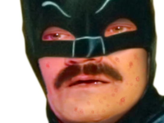 Sticker risitas batman celestin hero dark zoom