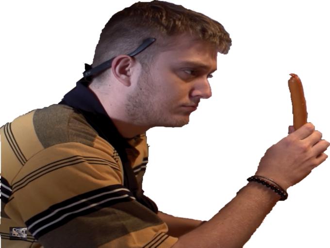 Sticker jvc vald saucisse concentre