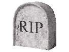 Sticker jvc rip rip rest in peace