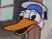 Sticker other canard donald dolan duck