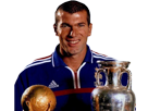 Sticker champion du monde other zinedine yasid zidane france 98 1998 real madrid foot football ballon dor genie coach entraineur