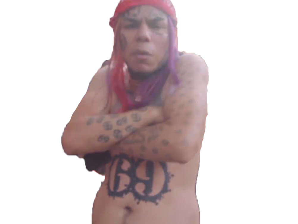 Sticker other 6ix9ine 69 rap rappeur us