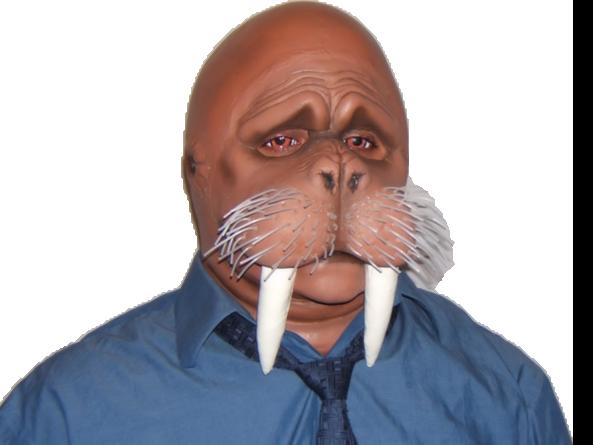 Sticker other animal masque morse