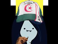 Sticker risitas adventure time marceline dz algerie algerien