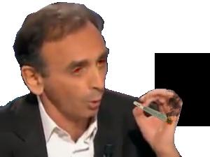 Sticker other eric zemmour joint drogue cannabis politique non defonce enerve