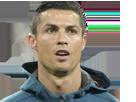 Sticker risitas 1 cristiano ronaldo real de madrid legende ballon dor portugal owen_07