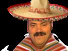 Sticker mexique risitas russie 2018 coupe mexicain