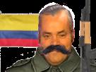Sticker risitas colombie coupe du monde russie 2018 drapeau