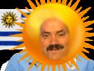 Sticker risitas uruguay coupe du monde russie 2018