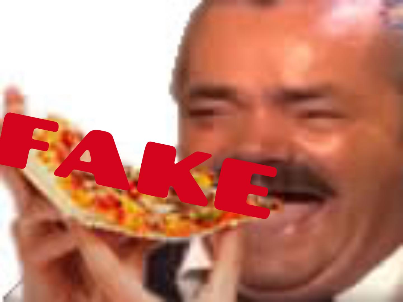 Sticker risitas fake feed troll manger pizza