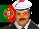 Sticker risitas portugal portuguais coupe du monde russie 2018 drapeau